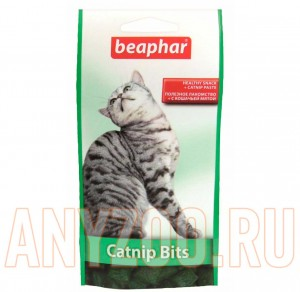 фото Beaphar Беафар Catnip-Bits подушечки для кошек с кошачьей мятой