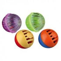 фото Trixie Набор игрушек для кошек разноцветных мячей  4шт ф4см