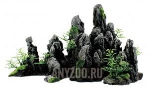"ArtUniq Steep Gray Cliffs Декоративная композиция из пластика ""Крутые серые скалы"""