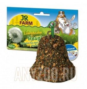 фото JR Farm Колокольчик из сена с одуванчиком для грызунов