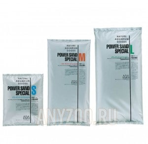 фото ADA Power Sand Special Супер питательный субстрат, обогащенный ADA Bacter 100 и ADA Clear Super