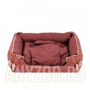 Lion Лежанка для собак и кошек Лондон LM4050-018 Бордовый
