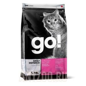 фото GO!Natural Holistic беззерновой сухой корм для котят и кошек с курицей,фруктами и овощами