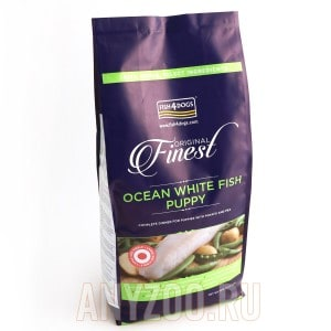 Fish4Dogs Finest Ocean White Fish Puppy Large Kibble