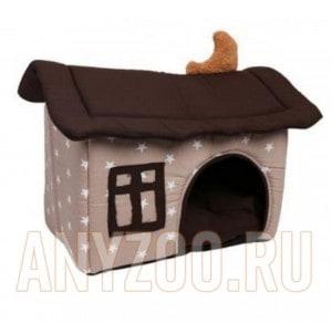 Lion Лион домик для собак размер М 55*45*45 LM4020-006