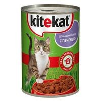 фото KiteKat - Китикет консервы для кошек (печень)