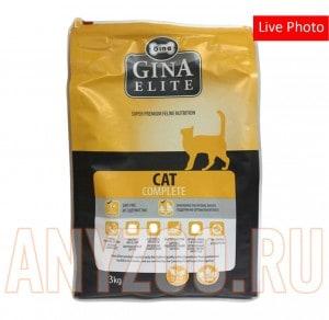 Купить Gina Elite Cat Complite Джина  Комплит сухой корм для взрослых кошек
