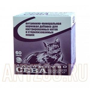 фото Ceva Витаминно-минеральная кормовая добавка для кастрированных котов и стерилизованных кошек