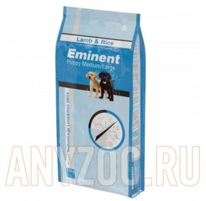 Eminent Puppy Medium/Large Lamb&Rice 28/14
