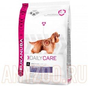 фото Eukanuba Dog DC Sensitive Skin - Эукануба Сенситив при чувствительной кожей сухой корм