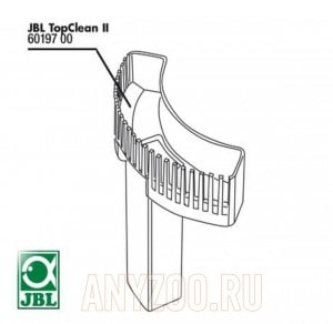 JBL TopClean Comb II