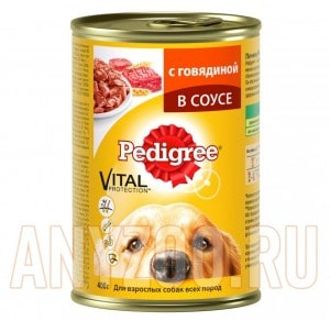 фото Pedigree - Педигри консервы для собак (говядина)