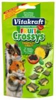 фото Vitakraft-Витакрафт Лакомство для хомяков подушечки с фруктами