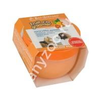 фото Iv San Bernard Маска Апельсин с силиконом для собак и кошек для слабой выпадающей шерсти