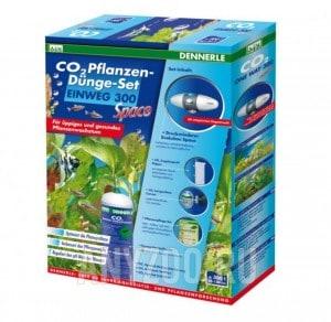 Установка для подачи СО2 в аквариум Dennerle Einweg 300 space