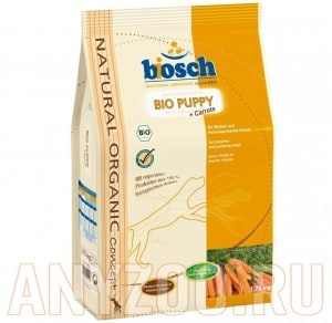 Купить Bosch Bio Puppy - Бош Био Паппи корм для щенков (с морковью)