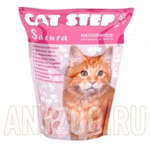 """Cat Step Наполнитель силикагель """"Сакура"""""""