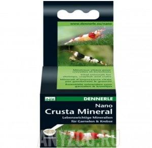 фото Dennerle Nano Crusta Mineral Комплекс жизненно важных минералов  для креветок, раков и сомов