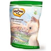 фото Мнямс Бифстроганов по-тасмански Сбалансированный сухой корм с мясом страуса для взрослых кошек.