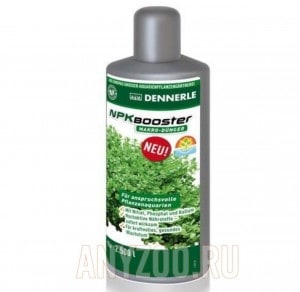 Купить Dennerle NPK Booster Удобрение с комплексом макроэлементов для аквариумных растений