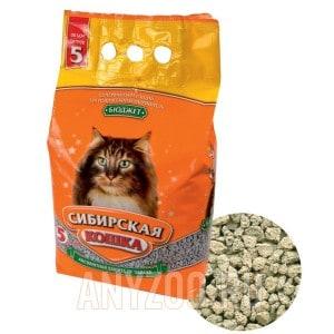 Сибирская Кошка Бюджет впитывающий наполнитель для кошек