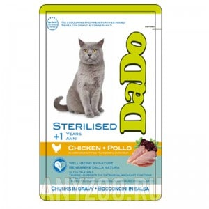 DaDo Sterilized Cat Chicken