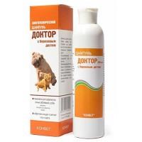 Доктор Шампунь для собак и кошек с проблемной кожей зеленый
