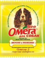 Омега Nео мультивитаминное лакомство для собак с омега-3 Морские водоросли