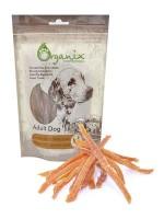 Органикс Лакомство для собак Нарезка из куриного филе 100% мясо