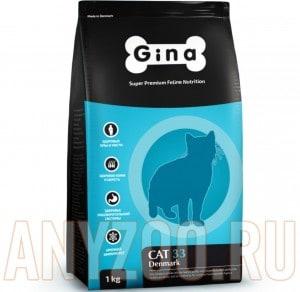 Купить Gina Denmark Cat 33 Джина Сухой корм для активных и выставочных кошек