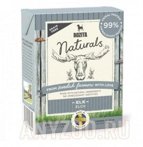 Купить Bozita  Naturals Elk консервы Порция сухого питания
