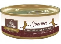 фото Best Dinner Gourmet консервы для кошек Натуральная курица
