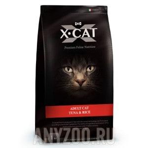 фото X-Cat Adult Cat Икс-кет сухой корм для взрослых кошек тунец