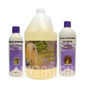 фото 1 All Systems Super Cleaning&Conditioning Shampoo шампунь суперочищающий для собак и кошек