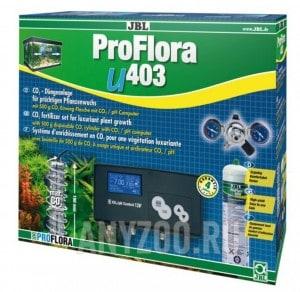 фото JBL ProFlora u403 Система СО2 для аквариумов от 50 до 400 литров с баллоном 500 г+ pH-контроллером