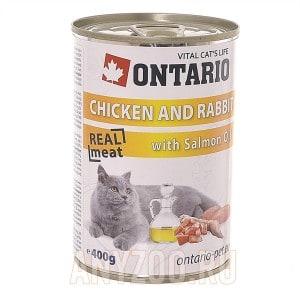 Ontario konzerva Chicken, Rabbit, Sunflower Oil