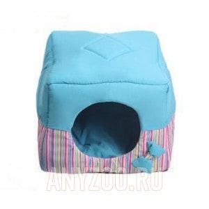 Lion Кубик Домик транформер для собак и кошек LM4030-017 Синий