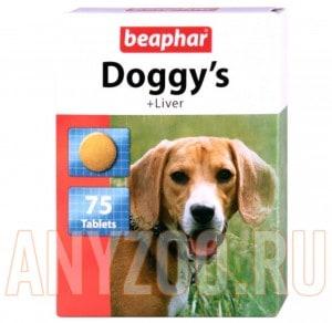фото Beaphar - Беафар Лакомство Догги для собак с печенью