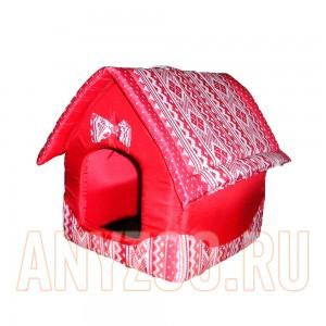 Догман Будка (домик) для кошек и собак  (расцветка микс)