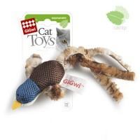 фото GiGwi Гигви игрушка для кошек Утка с кошачьей мятой