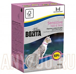 Bozita Tetra Pak Funktion Sensitive Hair&Skin