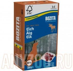 Купить Bozita Tetra Pak - Бозита Тетра Пак для собак Кусочки в желе с мясом Лося