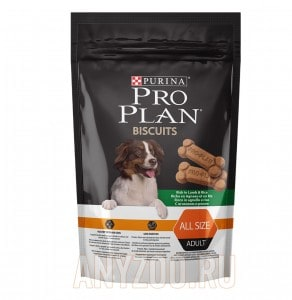 Pro Plan Biscuit Adult all size Lamb & Rice
