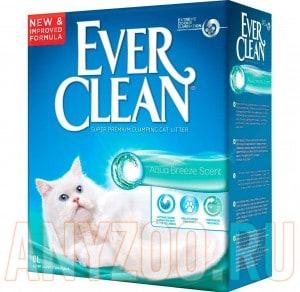 Купить Ever Clean Aqua Breeze Scent Эвер Клин Наполнитель туалета для кошек с ароматом Морского бриза