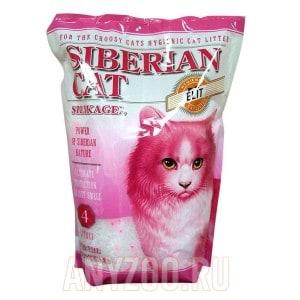 Сибирская Кошка Элита силикагелевый наполнитель для привередливых кошек