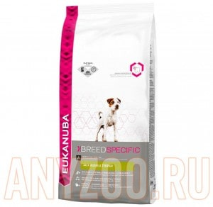 Eukanuba Jack Russell Terrier - Эукануба сухой корм для собак породы Джек Рассел Терьер