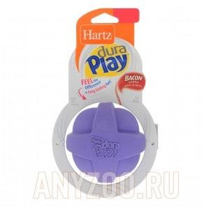 Купить Hartz Мяч рельефоный из латекса с наполнителем с ароматом бекона (средний)