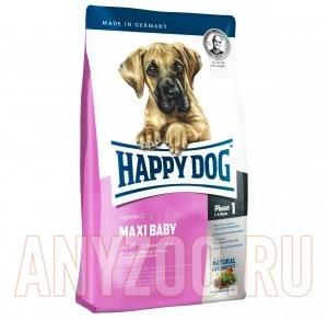 фото Happy Dog Supreme Maxi Baby GR 29 - Хэппи Дог для щенков крупных пород от 1 до 5 месяцев