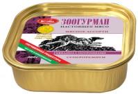 Зоогурман консервы для собак Мясное ассорти говядина с рубцом и потрошками