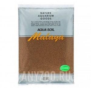 """фото ADA Aqua Soil Powder Malaya Основной питательный субстрат """"Малайя"""" в форме мелких гранул (порошка)"""